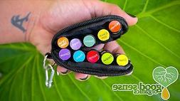Emotional Aroma therapy essential oils travel kit keychain