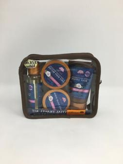 Tree Hut Essential Travel Kit, Moroccan Rose, 4 Items in One