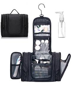 WANDF Expandable Toiletry Bag Dopp Kit TSA Approved Bottles