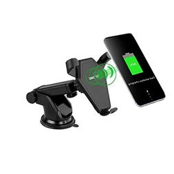 Fast Wireless Charger, 1st BIT, Car Mount Air Vent Phone Hol