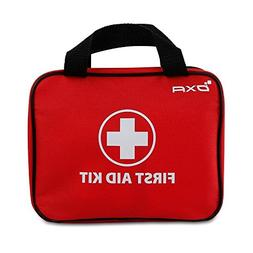 OXA 100 Pieces First Aid Kit, FDA Certified Emergency Kit fo