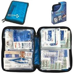First Aid Kit All Purpose Emergency Trauma Outdoor Travel Ba