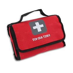 First Aid Kit -181 Pieces - Bag. Packed with hospital grade