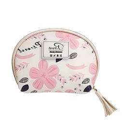 Flower Small cosmetic bags, Makeup bags travel Large capacit