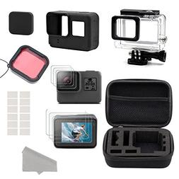GreatCool GoPro Hero 5 6 Accessories Kit,Accessory Kit for G