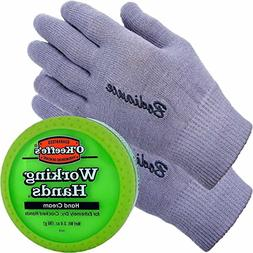 Hand Cream for Dry Cracked Hands and Hand Repair Gloves Bund