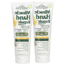 Miracle Hand Repair Cream 8 ounce tube, 2-Pack with 60% Ultr