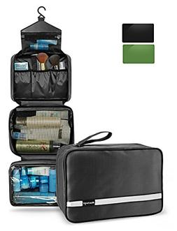 Mens Travel Toiletry Bag, Maxchange Hanging Toiletry Bag | F