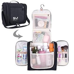 MelodySusie Large Travel Toiletry Bag Waterproof Makeup Orga