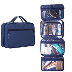 Hanging Toiletry Travel Bag by GYNOM | Compact Toiletry Bag