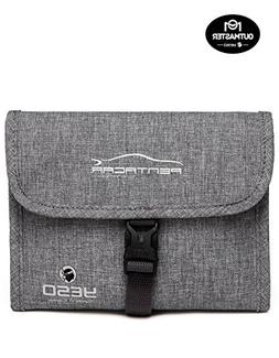 OUTMASTER Hanging Toiletry Bag Folding Portable, Travel Toil