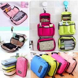 Hanging Toiletry Bag Large Kit Folding Makeup Organizer for