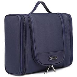 hanging toiletry bag portable side