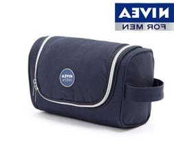 NIVEA Mens Hanging Travel Toiletry Bag Shaving Case Cosmetic