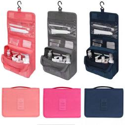 f19b77bed383 Hanging Toiletry Bag Travel Cosmetic Kit Large Essentials Or