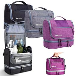 Hanging Toiletry Bag Waterproof Travel Cosmetic Kit Large Es