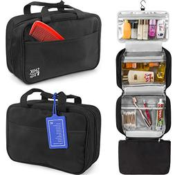 Premium Hanging Toiletry Bag Travel Kit For Women And Men.Or