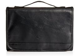 Dockers Hanging Travel Toiletry Kit w Handle Black Zippered