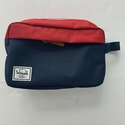 Herschel Supply Co. Chapter Travel Kit in Navy/Red