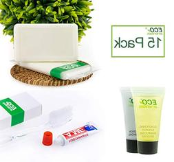 ECO Amenities Hotel Soap, Hotel Body Lotion, Mini Size Shamp