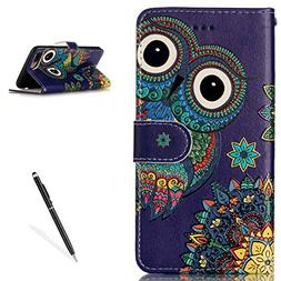 iPhone 7 Plus / 8 Plus 5.5 Inch Premium PU Leather Stand Wal