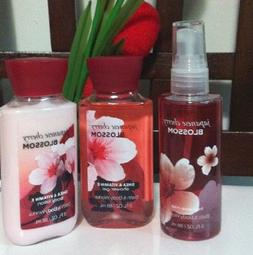 Bath & Body Works Japanese Cherry Blossom Travel Set - Lotio