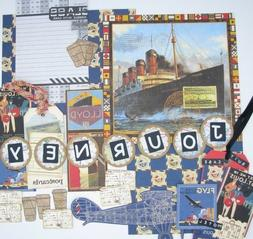 junk journal travel kit scrapbook supplies ephemera