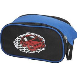 Obersee Kids Toiletry and Accessory Bag, Racecar