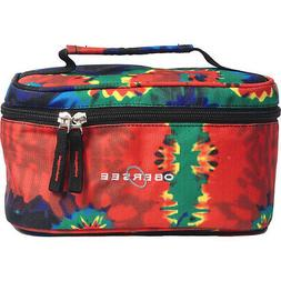 Obersee Kids Toiletry and Accessory Train Case Bag Toiletry