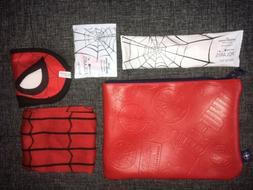 UNITED AIRLINES KIDS TRAVEL BAG TOILETRY CASE KIT SPIDER MAN