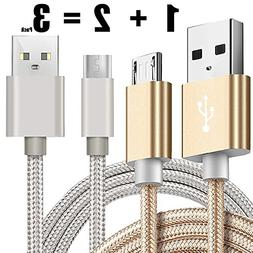 Kindle USB Cable A Male to Micro B 5FT iBarbe Sync and Quic