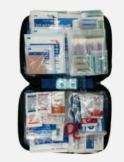 299 pc First Aid Kit Emergency Bag Home Car Outdoor American