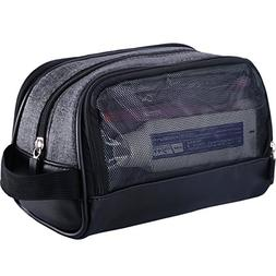 WOWBOX Travel Kit Toiletry Bag for Men Waterproof Cosmetic M