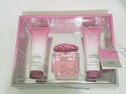 KIT Ve rsace Bright Crystal body lotion shower gel Travel Se