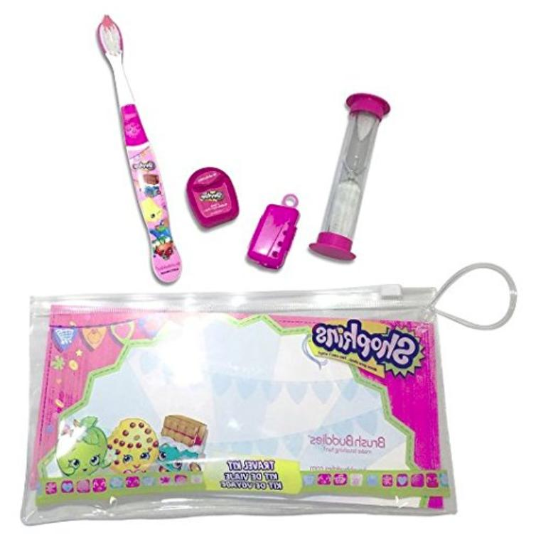 Kit - Toothbrush - 1 Cap 1 Floss - 1 Two Minute Sand Timer