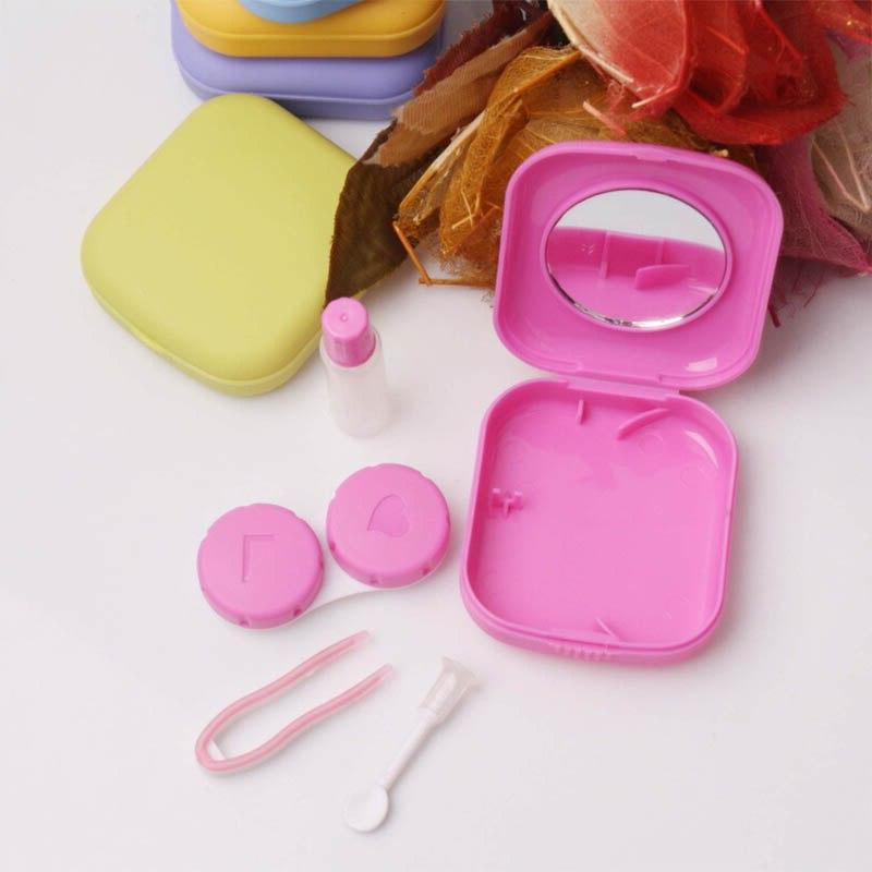 1 Contact Lens Case Container <font><b>Travel</b></font> <font><b>Kit</b></font> Carry