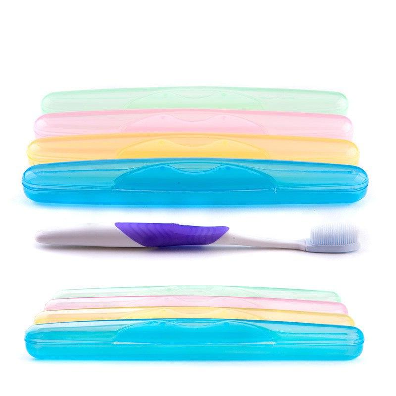 1 <font><b>Toothbrush</b></font> Storage Portable ABS <font><b>Toothbrush</b></font> Camping Color