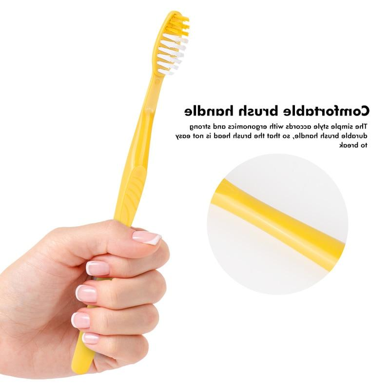 10PCS Handy Teeth Clean Disposable <font><b>Toothbrush</b></font> with Wash Suit <font><b>Travel</b></font>