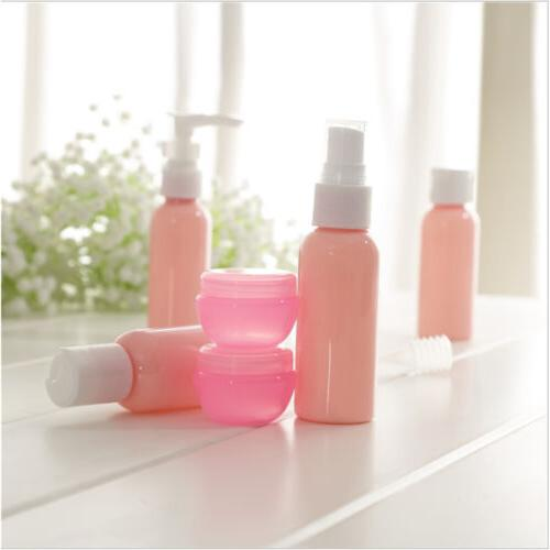 New Travel Refillable Pink Set Kit