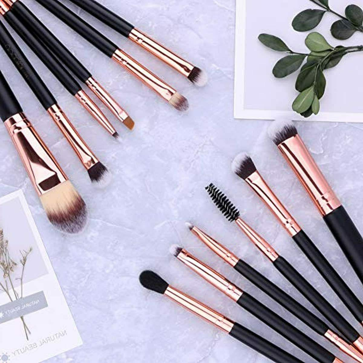 6 Pc Double Sided Travel Synthetic Professional Kit