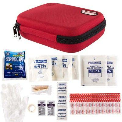 78pc Coleman Kit Emergency Safety Home Pack Zip Case