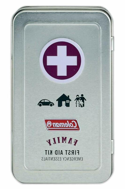 82 piece family first aid kit