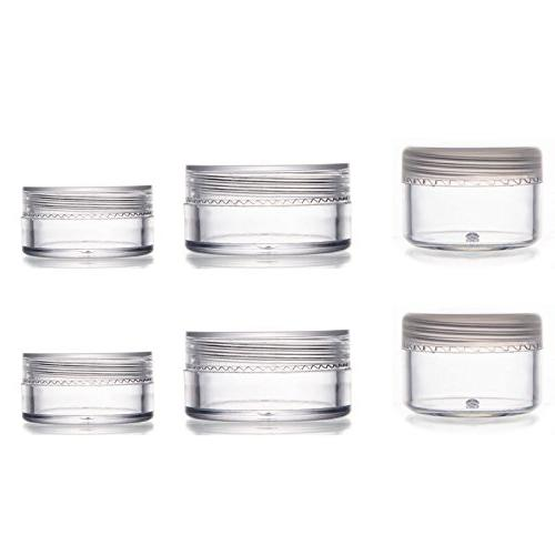ALINK Travel Size Bottles TSA Clear Cosmetic Containers with