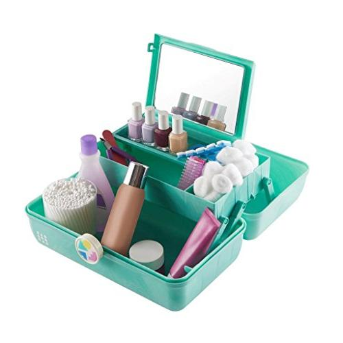 Caboodles On-the-Go Girl Foam Marble Vintage 1