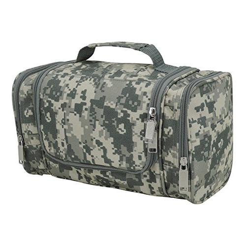 DALIX Camouflage Toiletry Bag