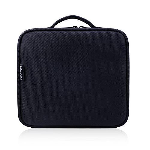 Docolor Travel Train Makeup Case for Cosmetics Makeup Brushes Toiletry accessories