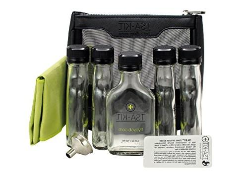 FLY BYOB - TSA Travel Flask Kit
