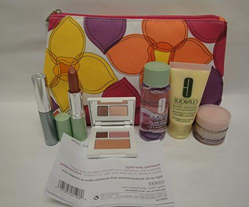 NEW Clinique Care Makeup 7 Pc Spring 2015 Value $70