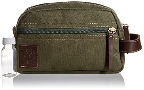 Timberland Men's Toiletry Canvas Olive, Size