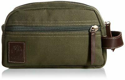 Timberland Men's Toiletry Bag Canvas Travel Kit Organizer, O